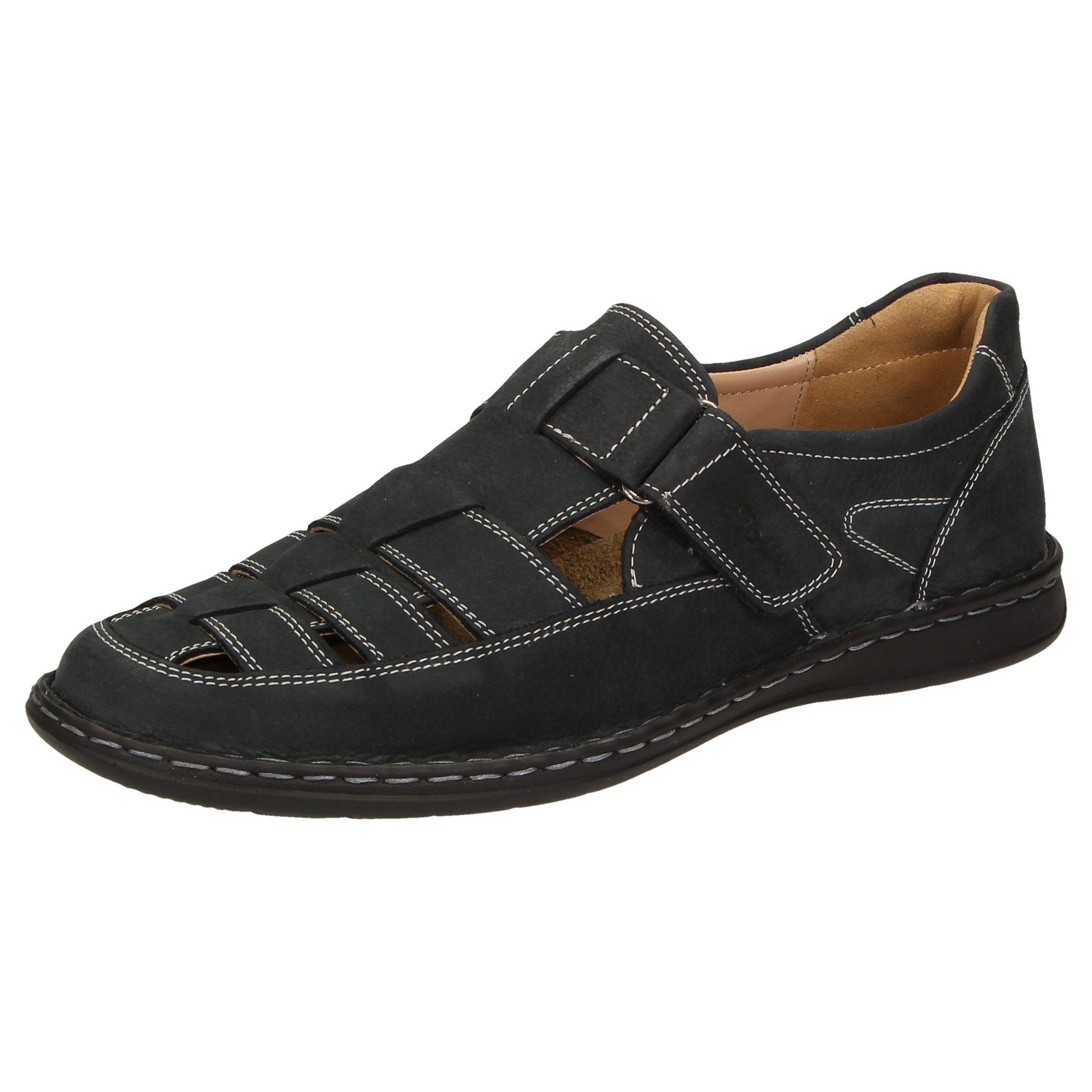 SIOUX Sandale Elcino-191 | Schuhe > Sandalen & Zehentrenner > Sandalen | Blau | Leder - Microfaser - Textil - Pu | Sioux