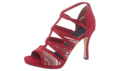 Tamaris High-Heel-Sandalette »Myggia«, mit trendiger Ethno-Stickerei kaufen