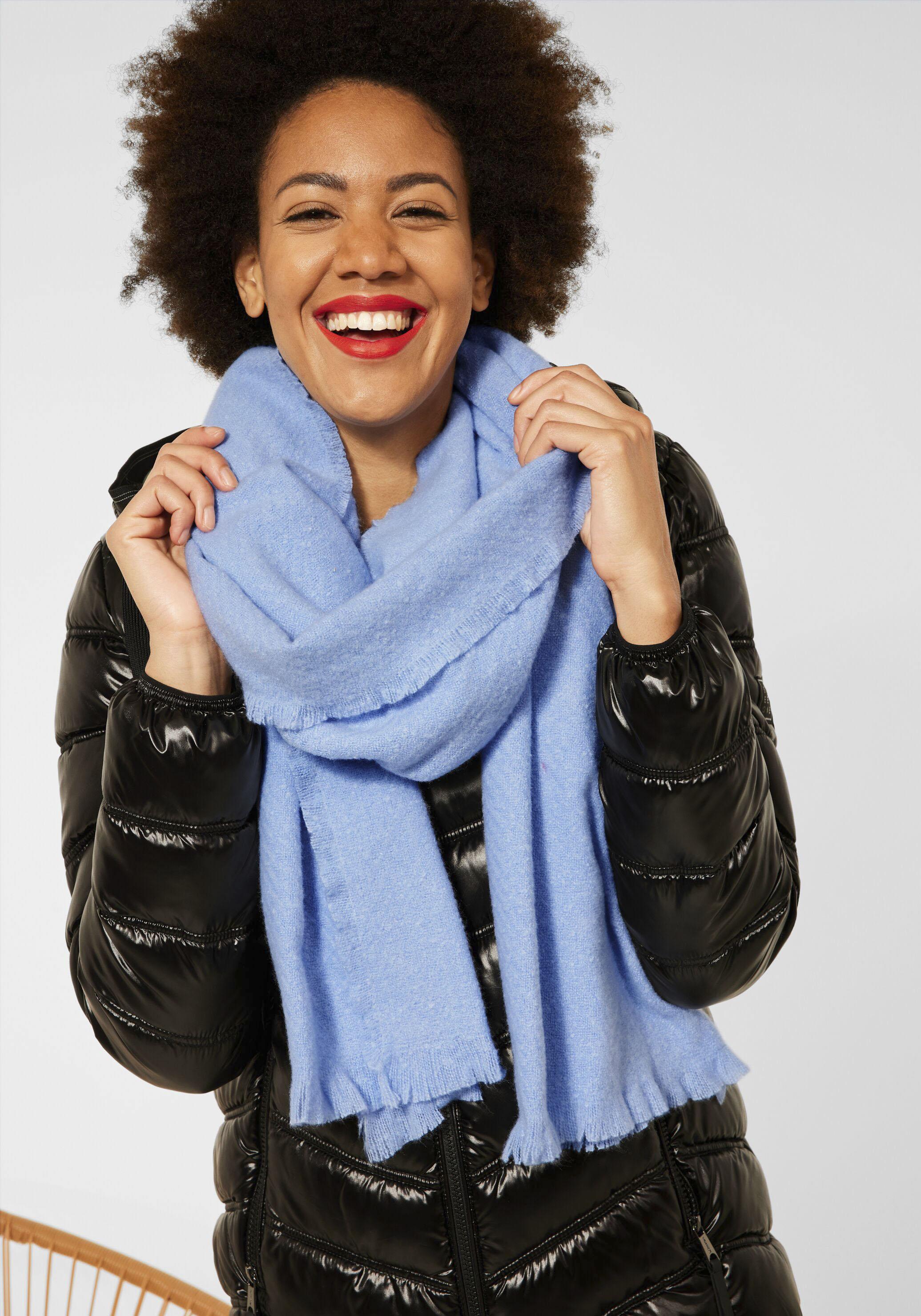 street one -  Modeschal, Softer Schal in Unifarbe