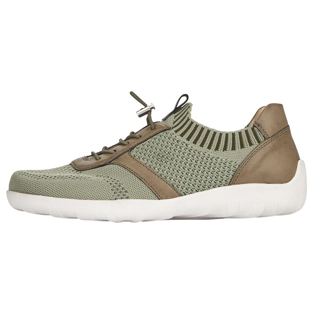 Remonte Slip-On Sneaker, mit praktischem Schnellverschluss