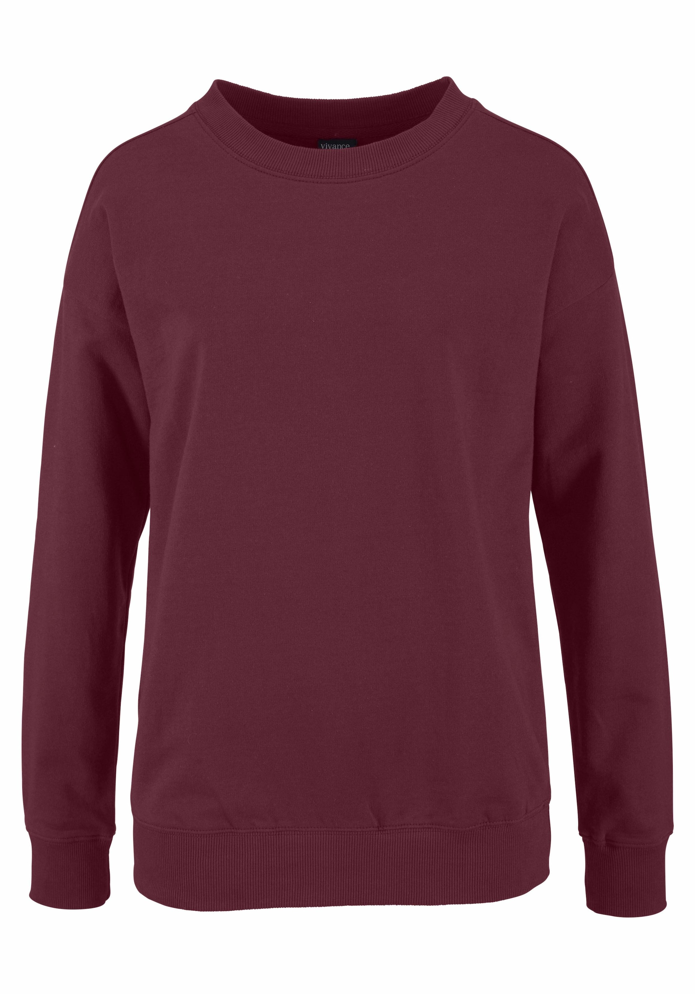 vivance active sweatshirt Basic Sweatshirts im Doppelpack
