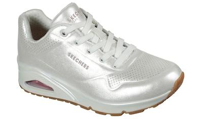 Skechers Sneaker »UNO«, in fein schimmernder Optik kaufen