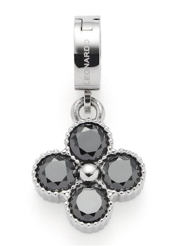 LEONARDO Charm-Einhänger »Iris Clip&Mix, 021644«, mit Glasstein kaufen