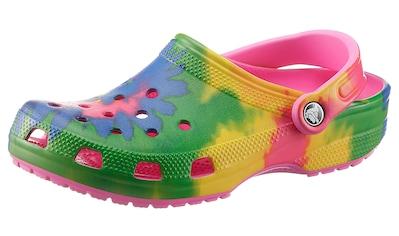 Crocs Clog »Classic Tie Dye Graphic«, mit Batik-Muster und Glitzer kaufen
