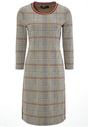 Aniston CASUAL Sweatkleid, mit gestreiften Bündchen und Galonstreifen kaufen