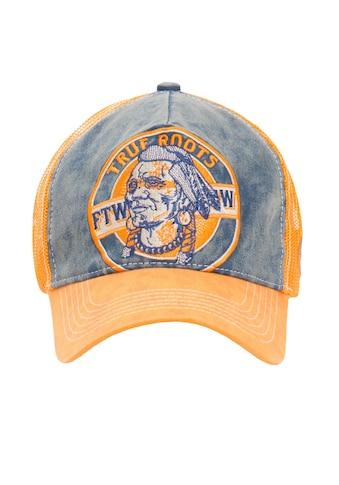 KingKerosin Trucker Cap »True Roots«, mit Denim Einsatz im Used Look kaufen