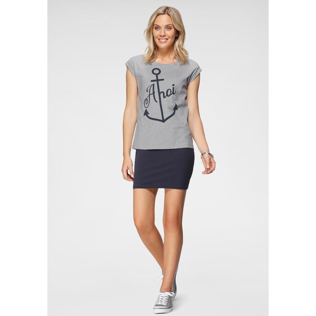 Flashlights Sweatkleid, (Set, 2 tlg., mit T-Shirt), in der Doppelpackung Kleid mit Shirt