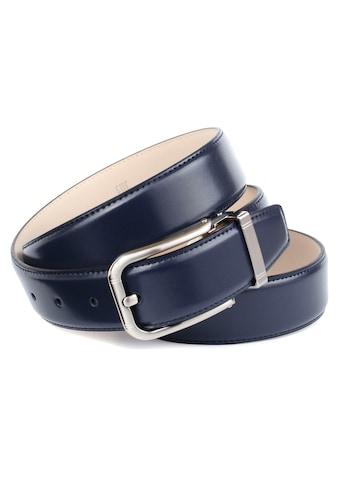 Anthoni Crown Ledergürtel, Eleganter Business-Ledergürtel kaufen