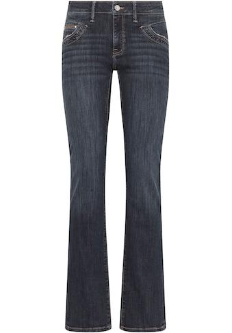 Mavi Straight-Jeans »OLIVIA-MA«, hochwertige Denimqualität mit Stretch für den... kaufen