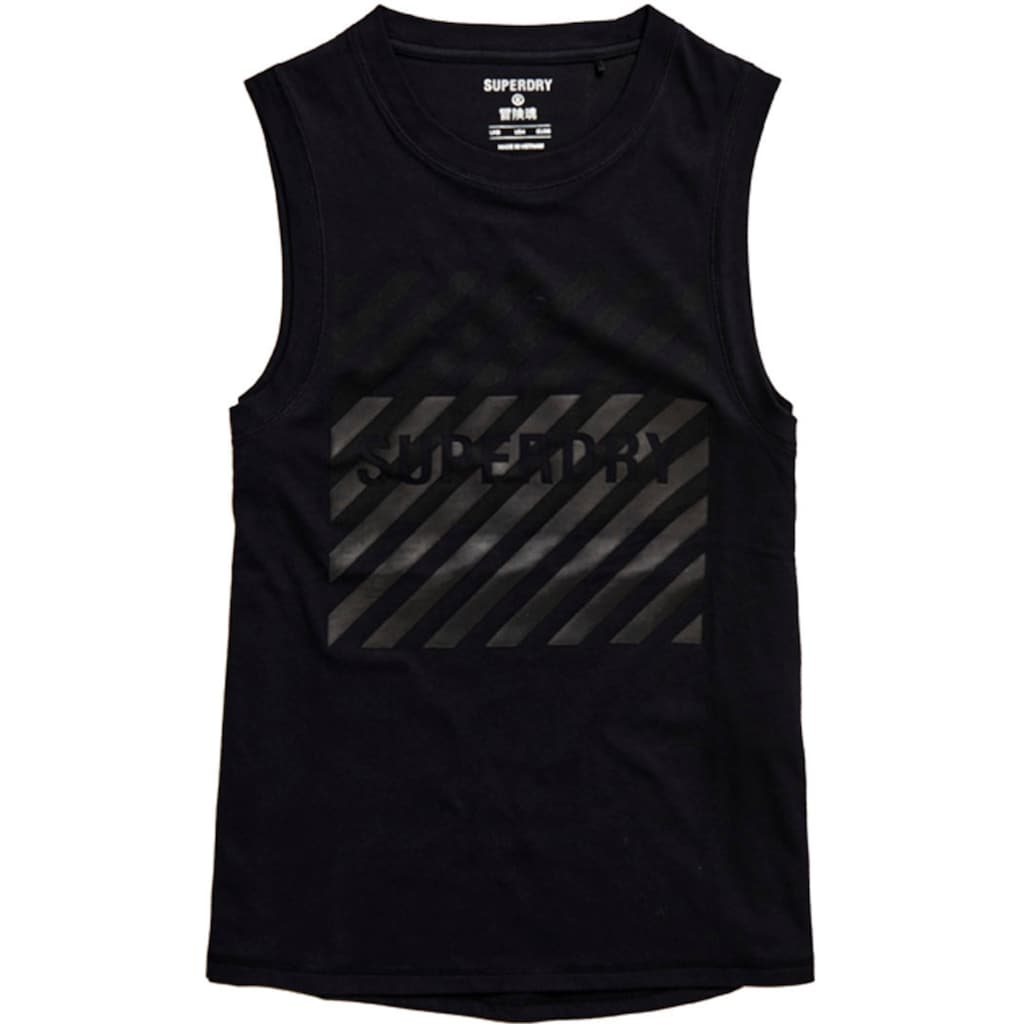 Superdry Sport Sporttop »TRAINING CORE GRAPHIC«