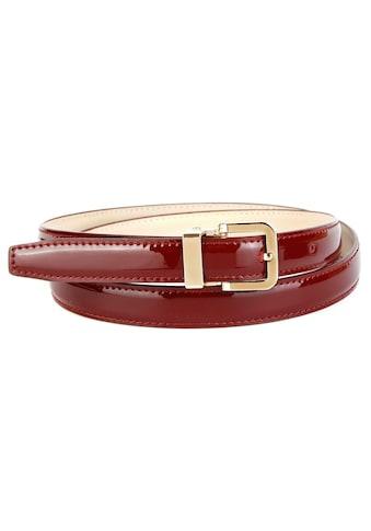 Anthoni Crown Ledergürtel, mit hochwertiger Dornschließe kaufen