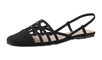 Sandalette im Cut - Out - Design kaufen