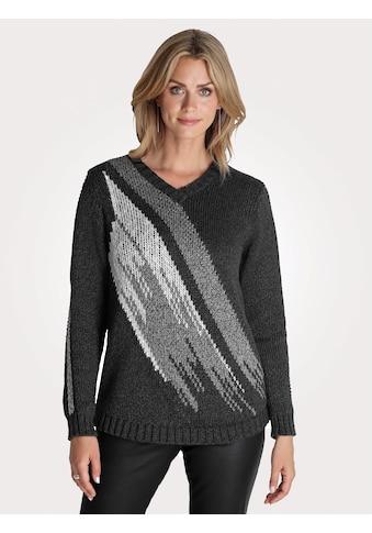 Mona Pullover mit Jacquardstrick kaufen