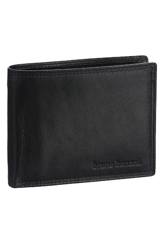 Bruno Banani Geldbörse, aus hochwertigem Rindsleder kaufen