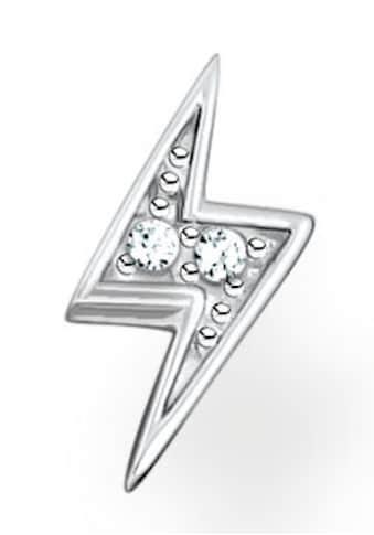 THOMAS SABO Single-Ohrstecker »Blitz gold, Blitz silber, H2217-051-14, H2217-414-14«,... kaufen