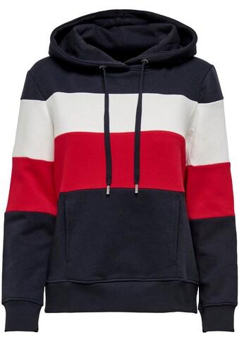 Only Hoodie »ONLPINE«, in Colorblock Design kaufen