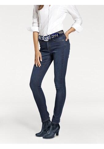 Bauchweg - Jeans Aleria mit Push - up Effekt kaufen
