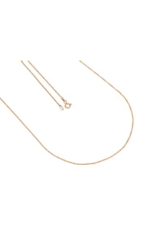 La Piora Silberkette »Criss Cross«, glanz, 925/- Sterlingsilber rosévergoldet kaufen