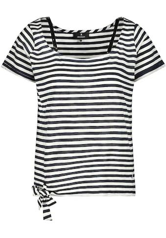 Monari Kurzarmshirt, mit glamourösen Pailletten kaufen