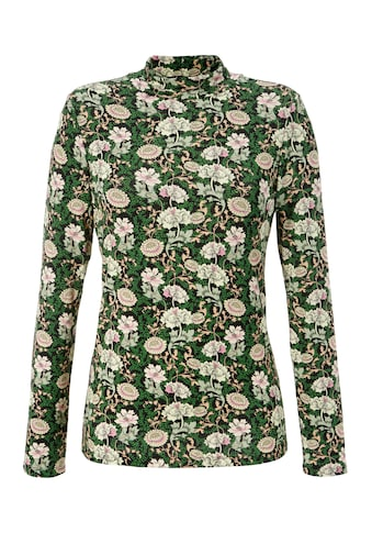 Aniston CASUAL Langarmshirt, mit farbenfrohen Blumendruck - NEUE KOLLEKTION kaufen