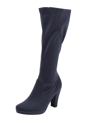Stiefel mit leichtem Glanzeffekt kaufen
