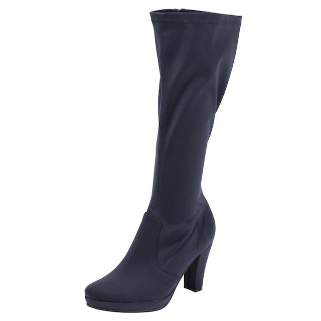 Stiefel mit leichtem Glanzeffekt
