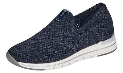 Remonte Slip-On Sneaker, mit feinem Glitzerschimmer kaufen