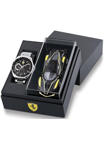 Scuderia Ferrari Multifunktionsuhr »Speedracer, 870037«, (Set, 2 tlg., mit Modellauto) kaufen