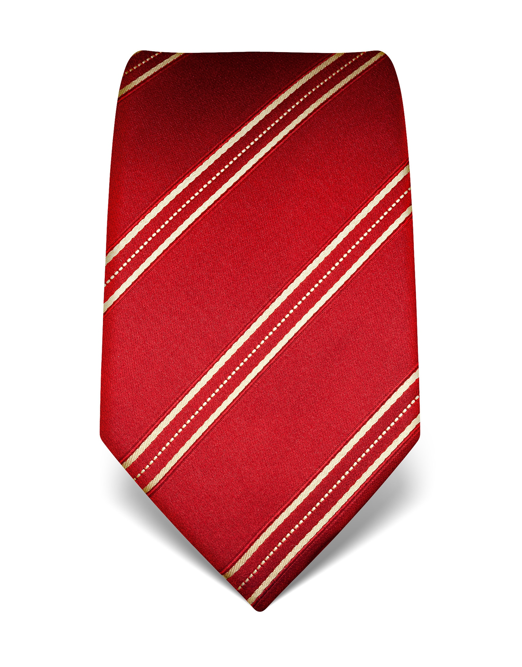 vincenzo boretti krawatte mit elegantem dreistreifendesign Elegante Krawatte von Vincenzo Boretti mNNAx