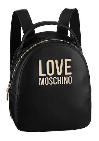 LOVE MOSCHINO Cityrucksack, mit vergoldetem Love Moschino Logo kaufen