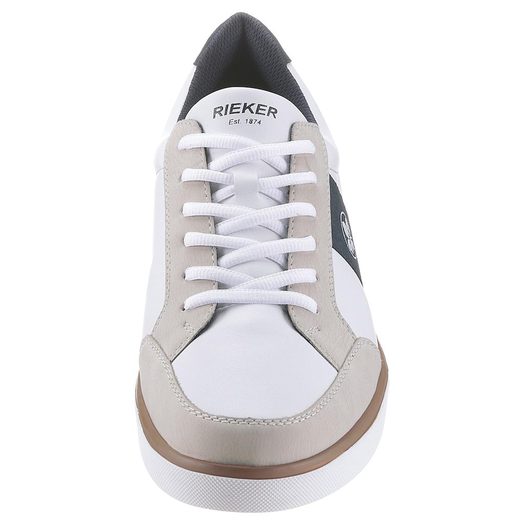 Rieker Sneaker, mit Logoprägung