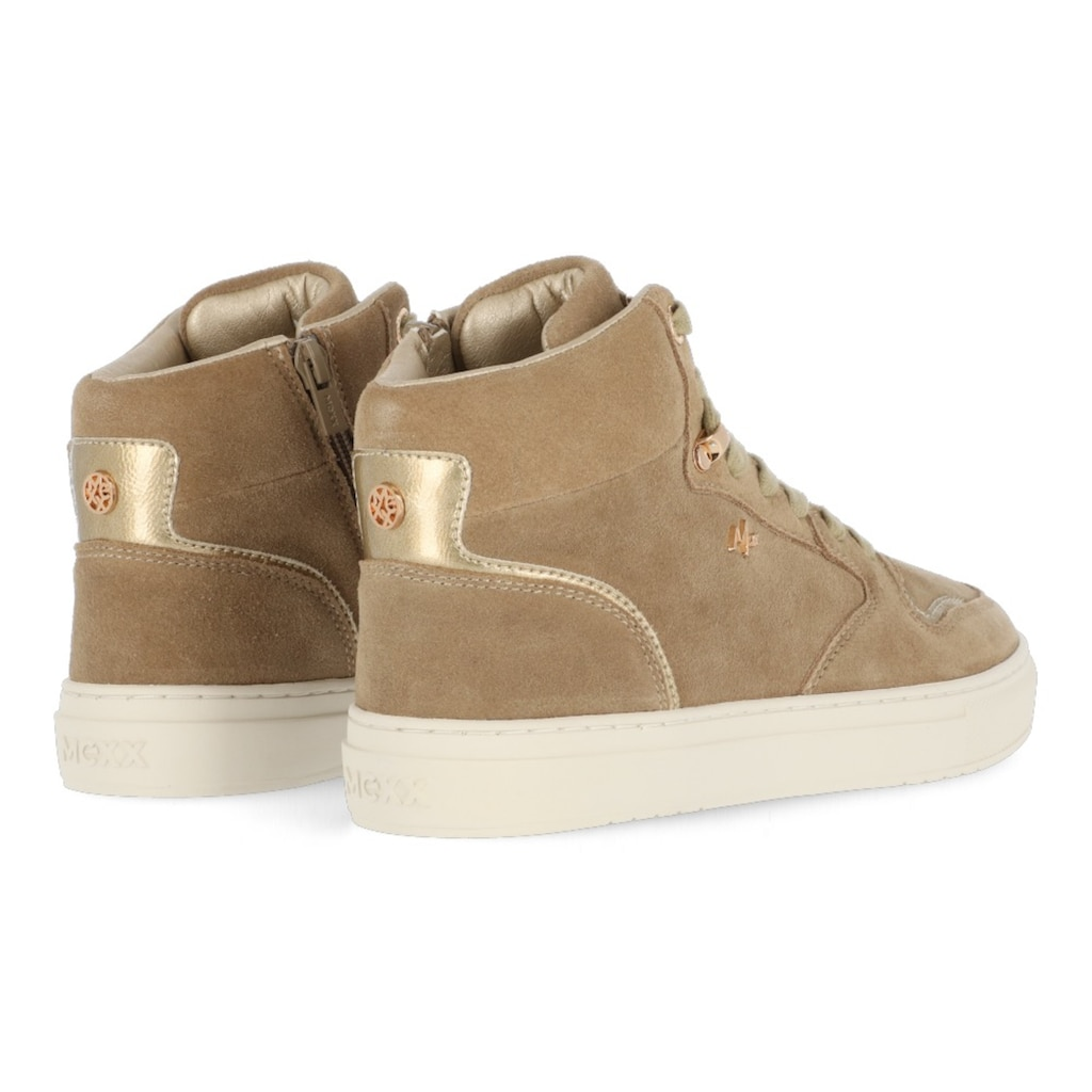 Mexx Sneaker »HOPE«, mit Metallic-Details