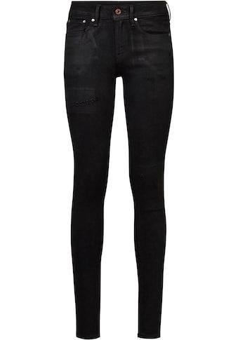 G-Star RAW Skinny-fit-Jeans »3301 Mid Skinny Jeans«, klassischen 5-Pocket-Design im... kaufen
