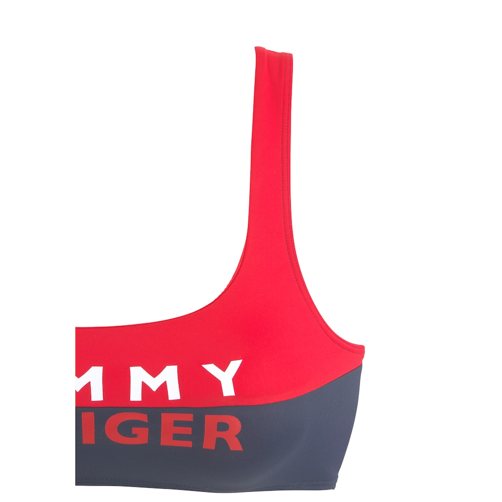 TOMMY HILFIGER Bustier-Bikini-Top »Block«