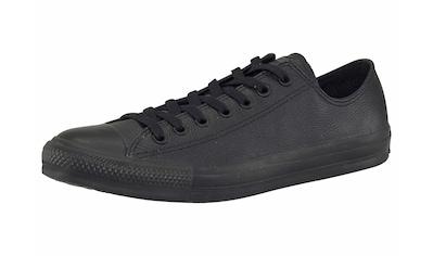 Converse Sneaker »Chuck Taylor Basic Leather Ox Monocrome« kaufen