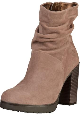 bugatti High - Heel - Stiefelette »Veloursleder« kaufen