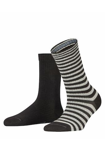 Esprit Socken Sporty Stripe 2 - Pack (2 Paar) kaufen