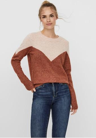 Vero Moda Rundhalspullover »VMPLAZA« kaufen