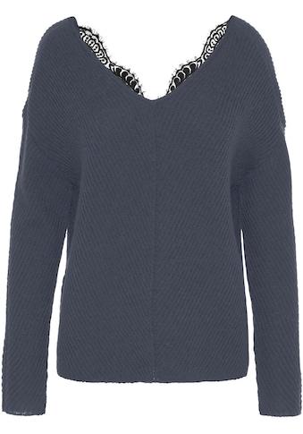 Vero Moda V - Ausschnitt - Pullover »VMBUENA LENA« kaufen