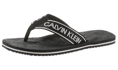 Calvin Klein Badezehentrenner »Calvin Klein Jeans Frank«, mit CK Logo kaufen