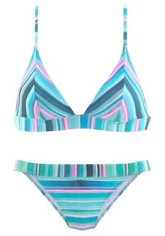Venice Beach Triangel-Bikini, mit breitem Unterbrustgummi kaufen