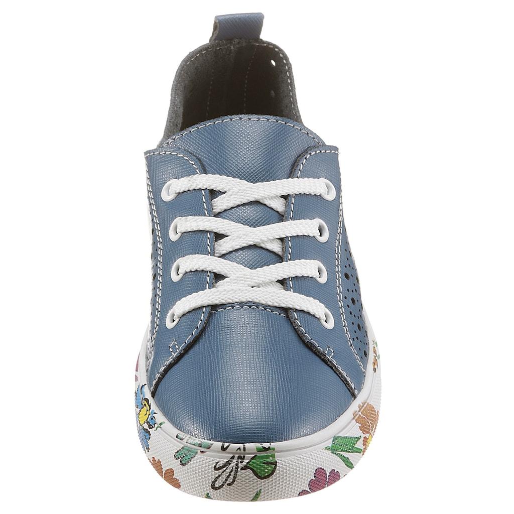 COSMOS Comfort Sneaker, Sohle mit Blumendruck