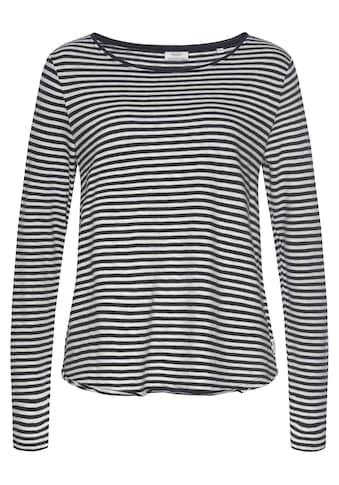 Marc O'Polo DENIM Langarmshirt, in tollem Basic-Look kaufen