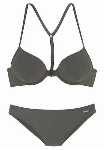Bruno Banani Push-Up-Bikini, mit Vorderverschluss kaufen