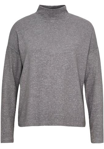 OPUS Langarmshirt »Sokole«, mit Raffungen am Rücken kaufen