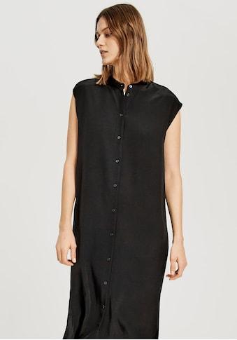 OPUS Hemdblusenkleid »Wimila«, mit durchgehender Knopfleiste kaufen