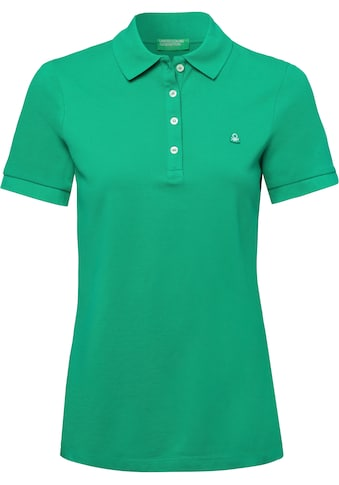 United Colors of Benetton Poloshirt, mit dezenter Logostickerei kaufen
