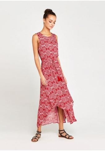 Apricot Maxikleid »Mosaic Print Tassle Tie Dress«, mit Rückenausschnitt kaufen