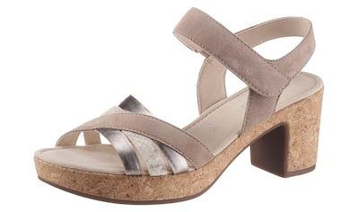 Gabor Sandalette, mit Metallic-Details kaufen