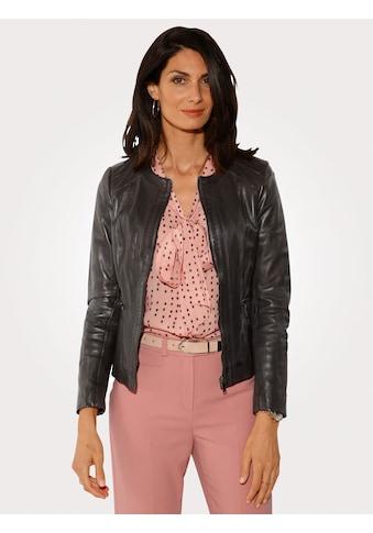 Mona Lederjacke aus Lamm - Nappa - Leder kaufen
